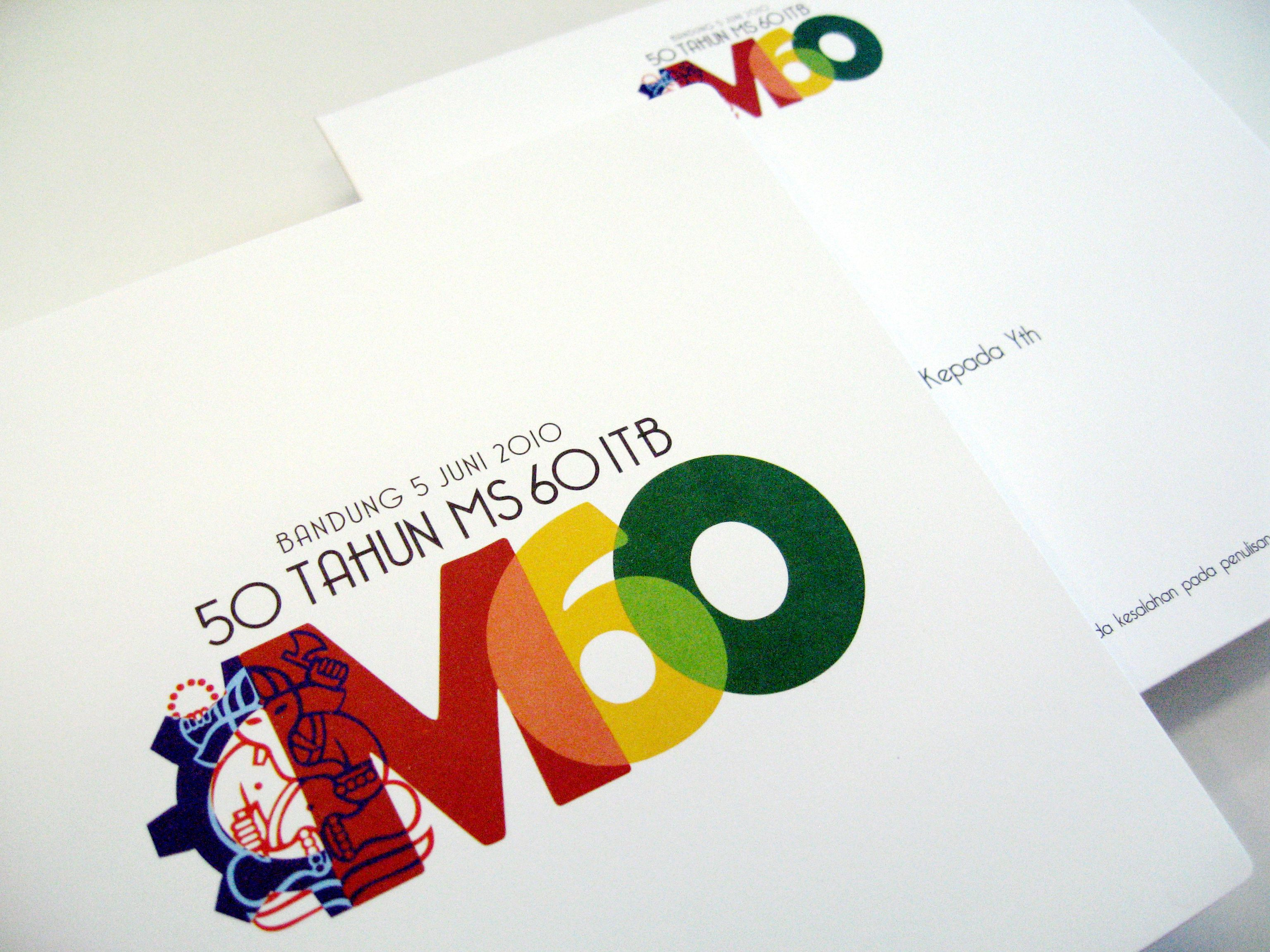 Logo for a 50th anniversary MS ITB
