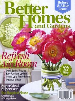 Better Homes Interior Design Magazine Home Decorating Shelter Architecture