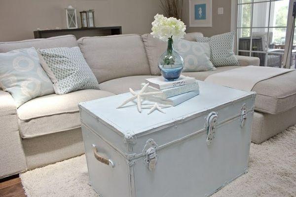 Truhe Schlafzimmer ~ Tolle salontisch truhe deutsche deko salontisch