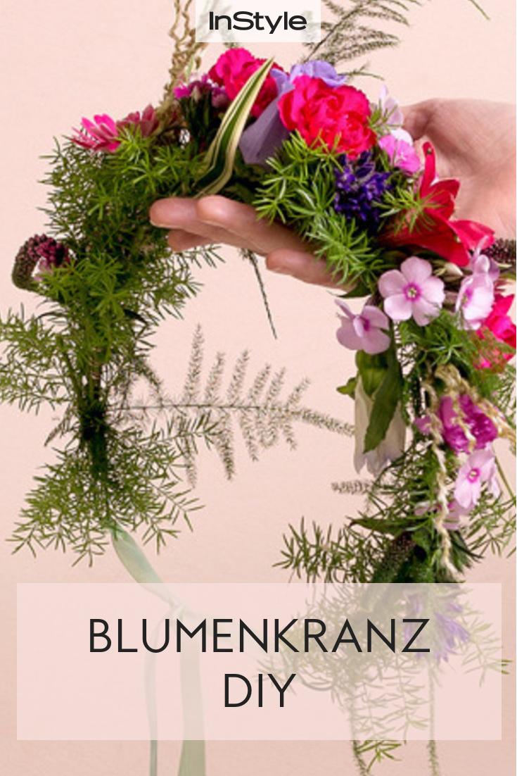 Blumenkränze selber binden: So easy klappt der Haarschmuck! #weddinghairjewelry