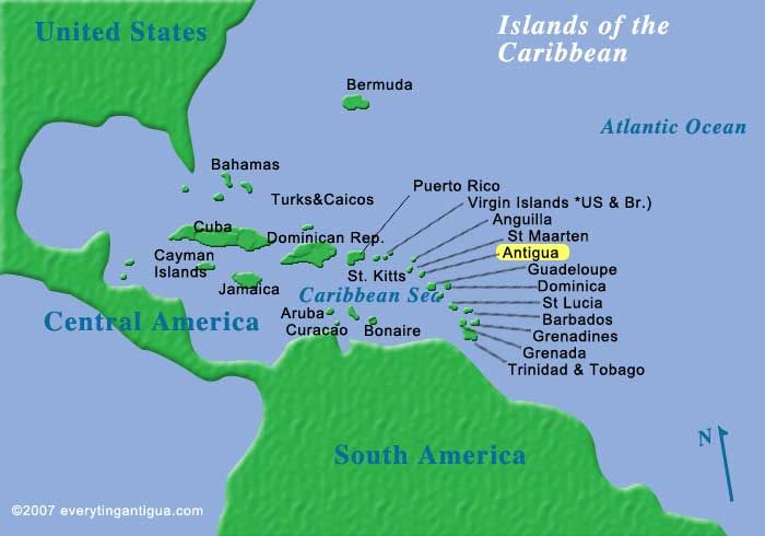 how to get to green island antigua