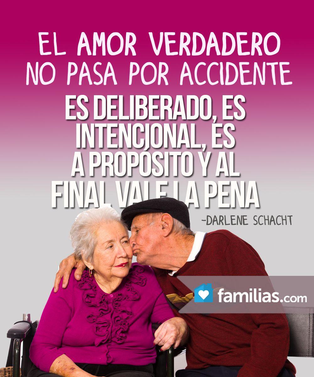 El amor verdadero no pasa por accidente