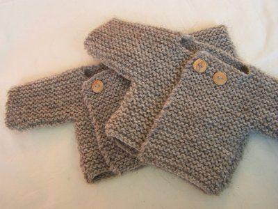 modele tricot bebe simple