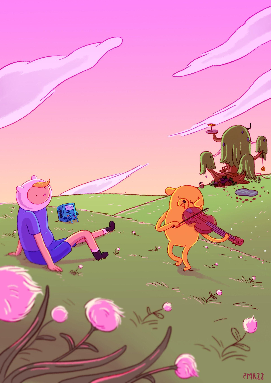 Artstation Come Along With Me Paula Moruzzi Adventure Time Anime Adventure Time Poster Adventure Time Marceline