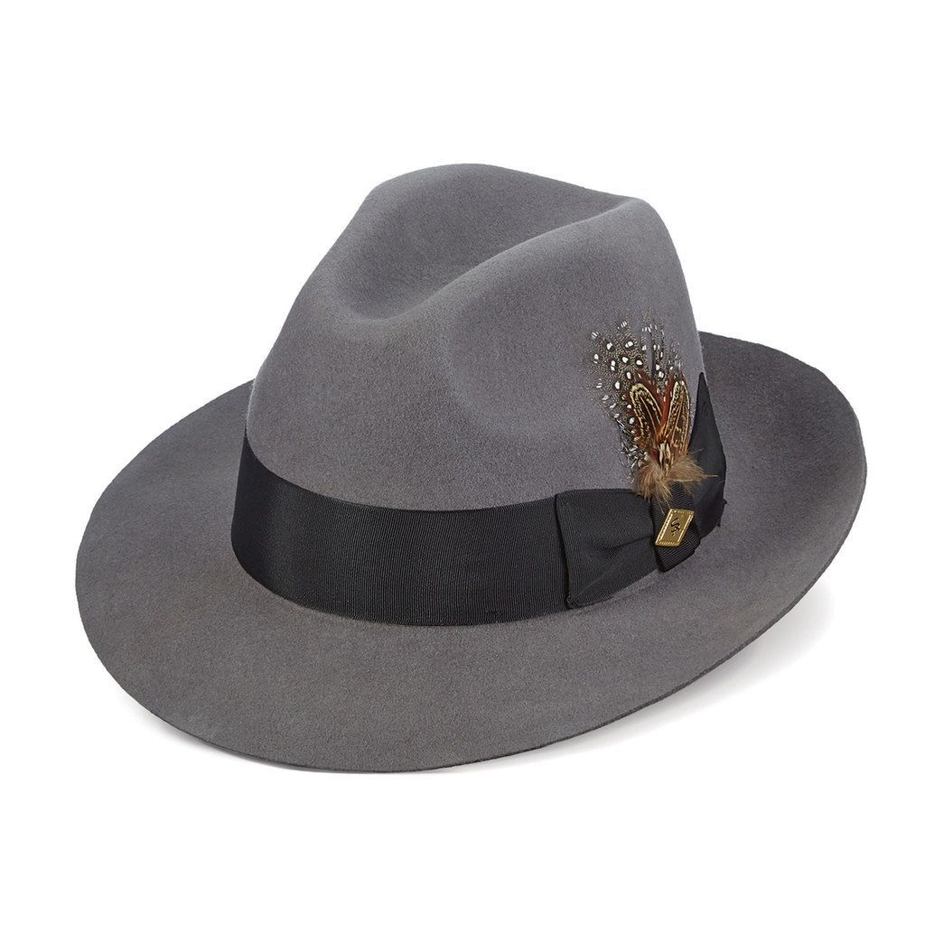 313ff0d60 Stacy Adams Men's Cannery Row Wool Felt Fedora | Products | Wool ...
