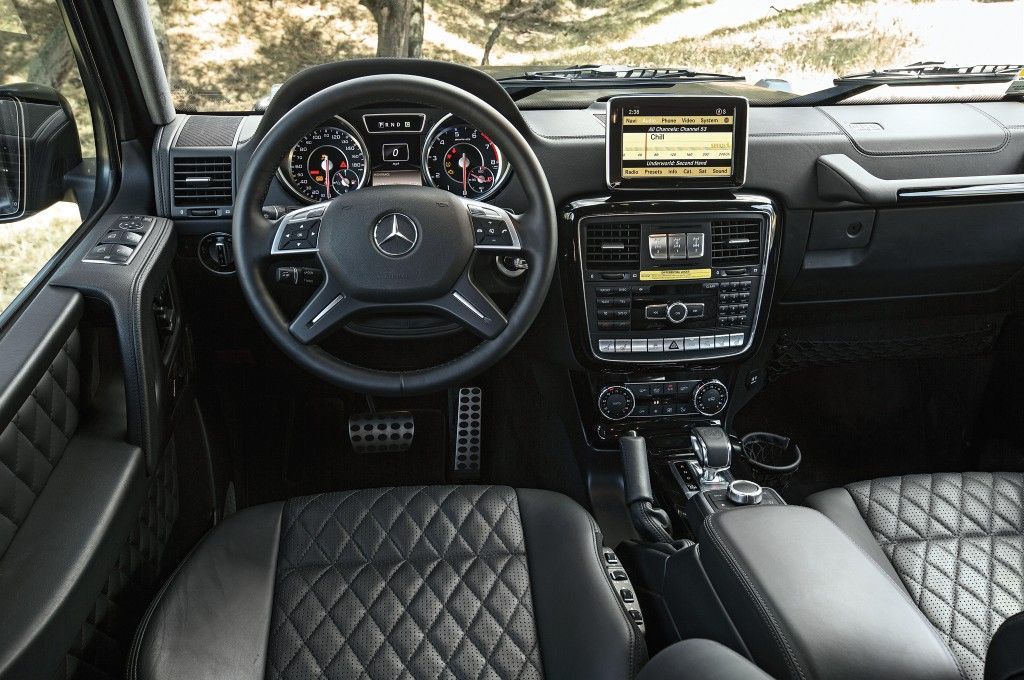 Mercedes Benz G Class G63 Amg Interior Mercedes G Wagon
