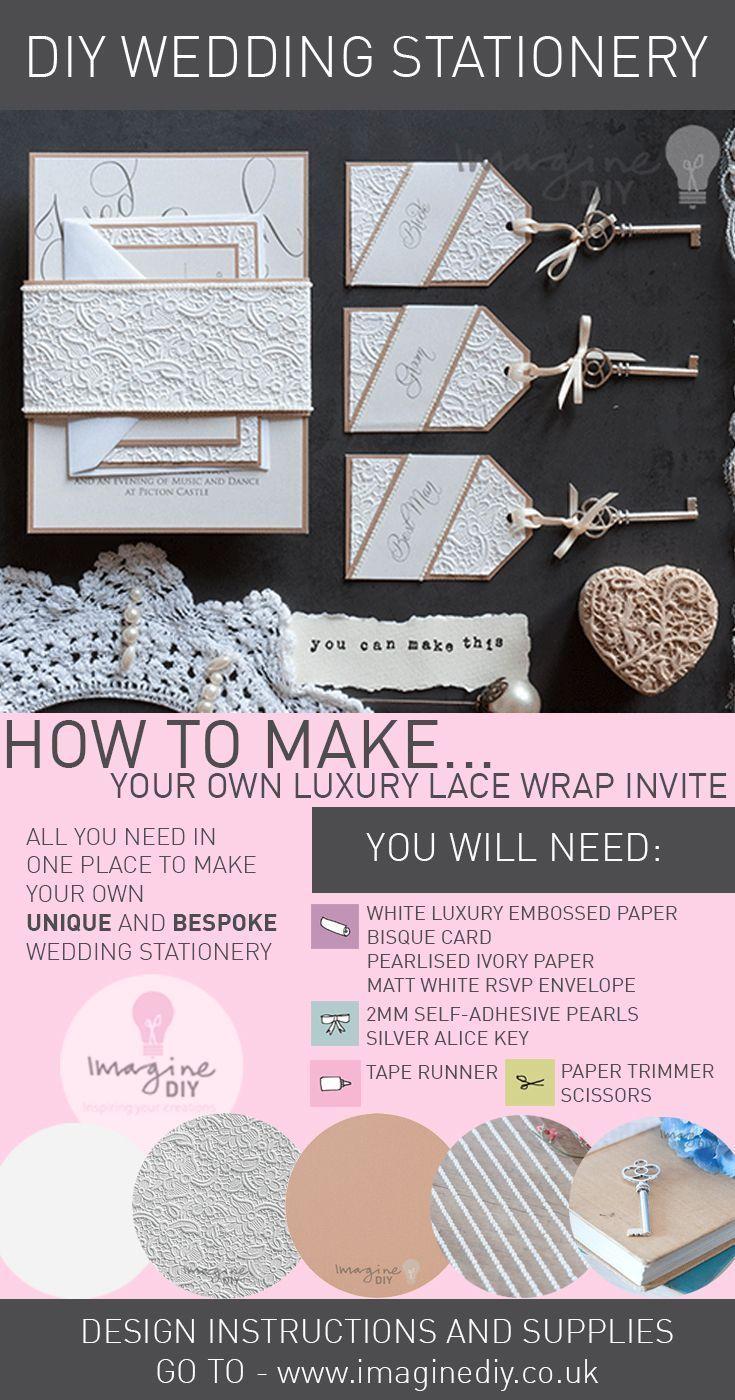 how to make your own diy wedding stationery diy wedding