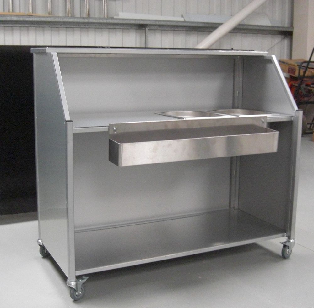 Portable Folding Mobile Bar Various Sizes Can Be Made Description From Steelwork