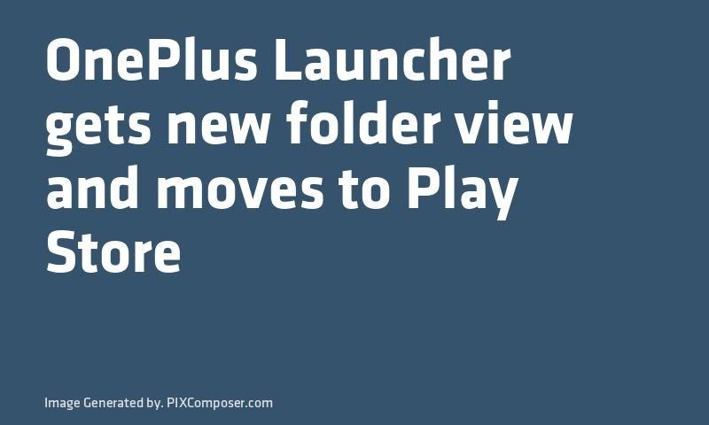 Play store folder