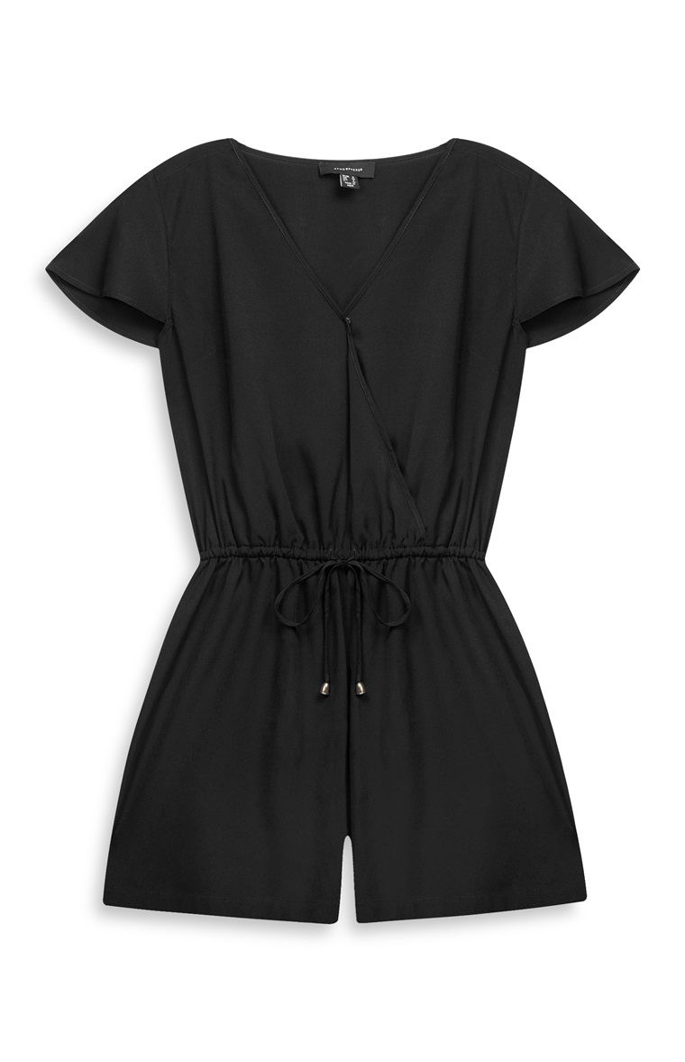 exceptional range of styles and colors buying now purchase cheap Primark - Black Wrap Playsuit | style in 2019 | Primark ...