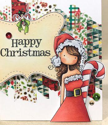 Alice's {Little} Wonderland: Uptown Girl Chrystal's Christmas Label