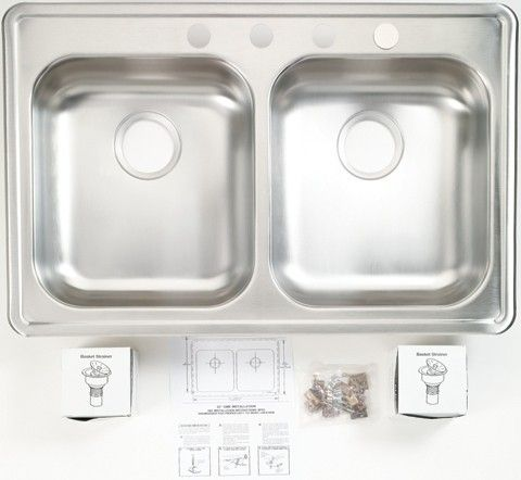 Images Of Ge Gpf97 Sink For Under The Sink Dishwasher Double