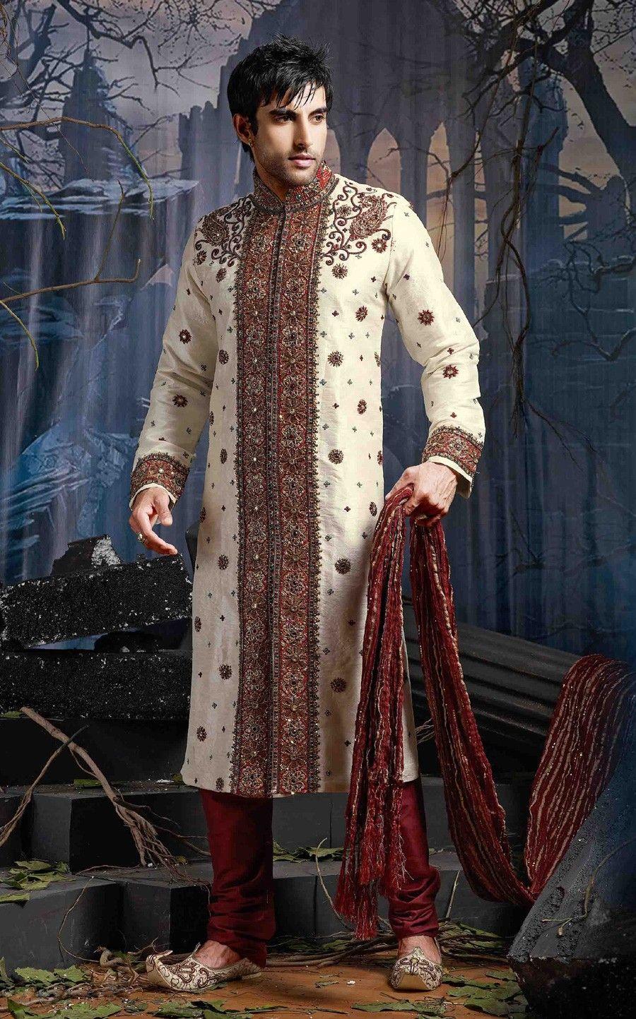 Latest Indian Designs Sherwanis 2015 For Wedding Parties