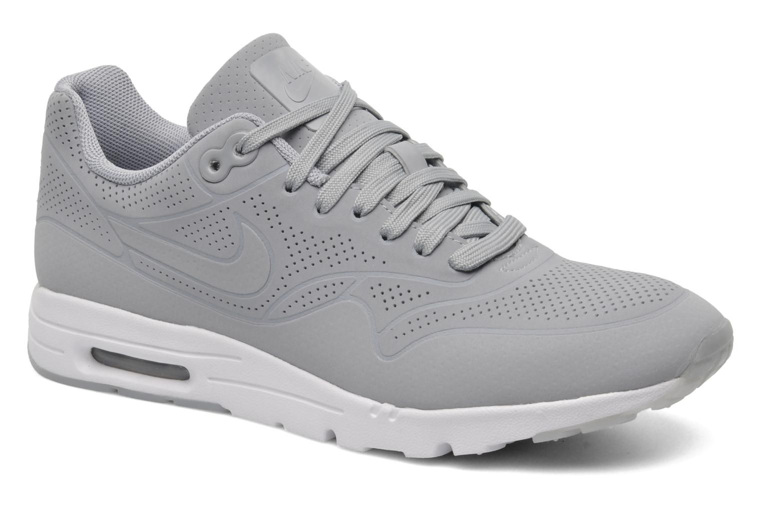 92742872bc4a Nike Wmns Air Max 1 Ultra Moire Trainers in Grey at Sarenza.co.uk ...