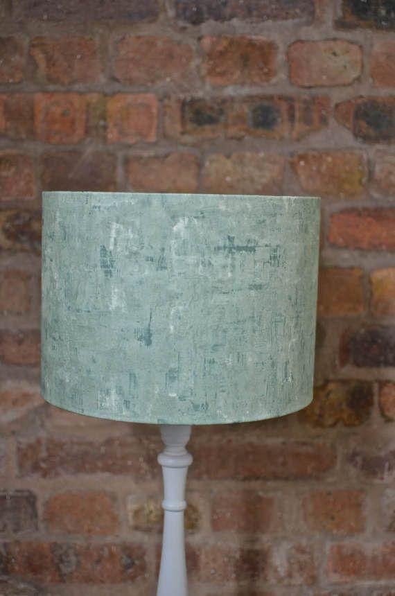 Lamp Shades Green Lampshade Pastel Home Decor Green Home Decor