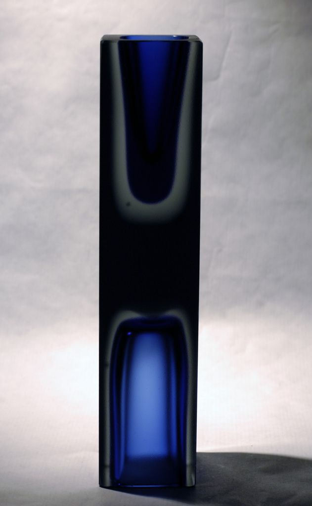 Hadeland Norway Severin Br 248 Rby Double Vase 60 S