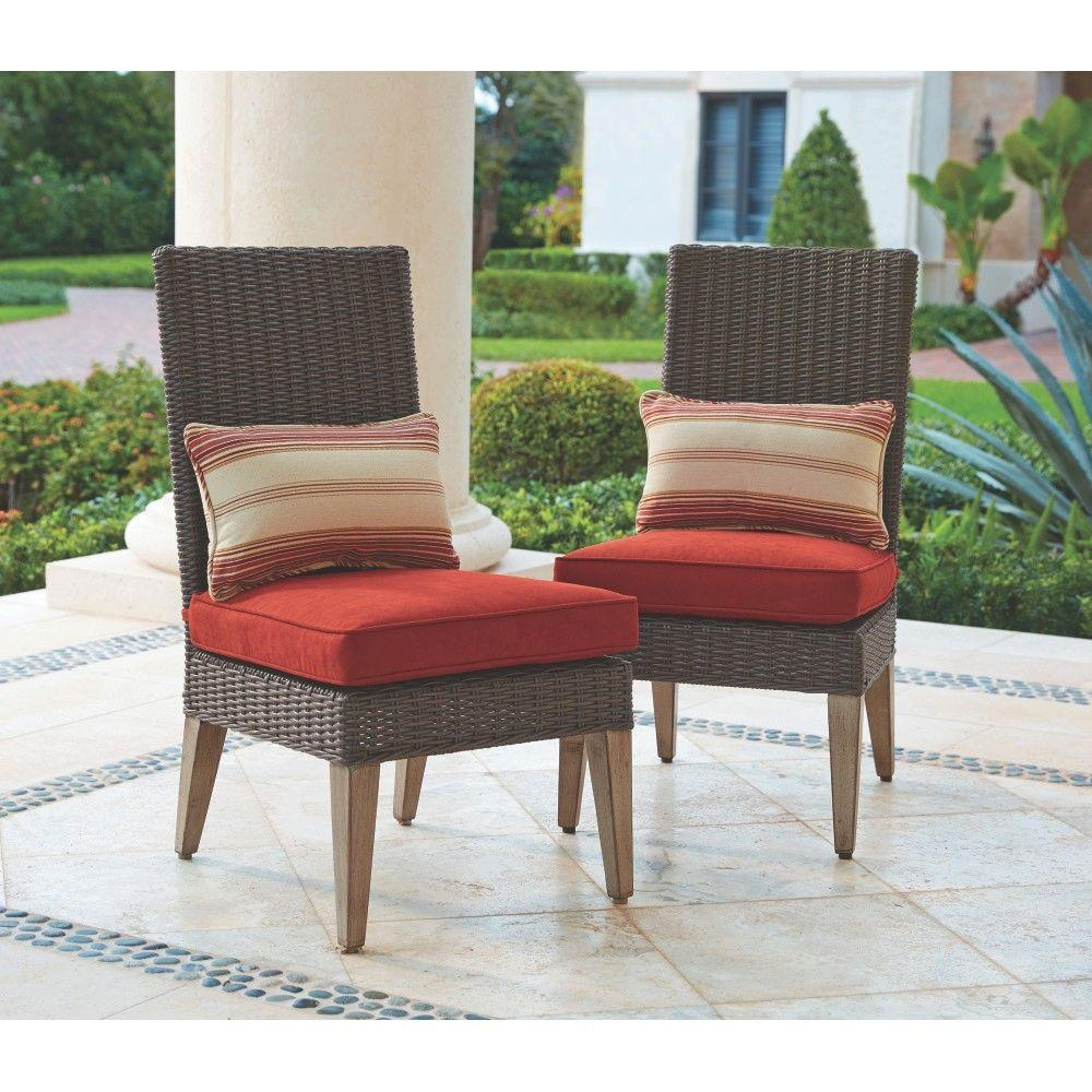 Home Decorators Collection Naples Brown All Weather Wicker Outdoor