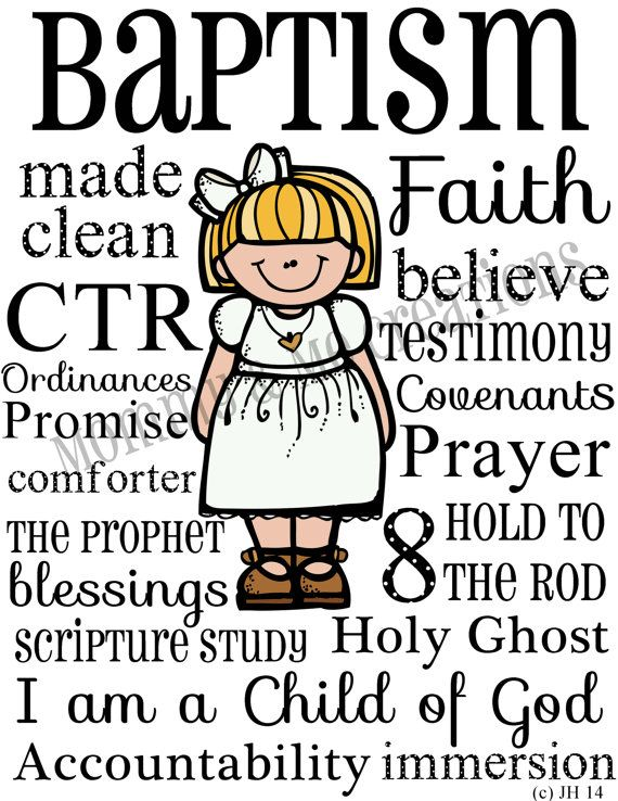i like this for a baptism but use child s picture instead of cartoon