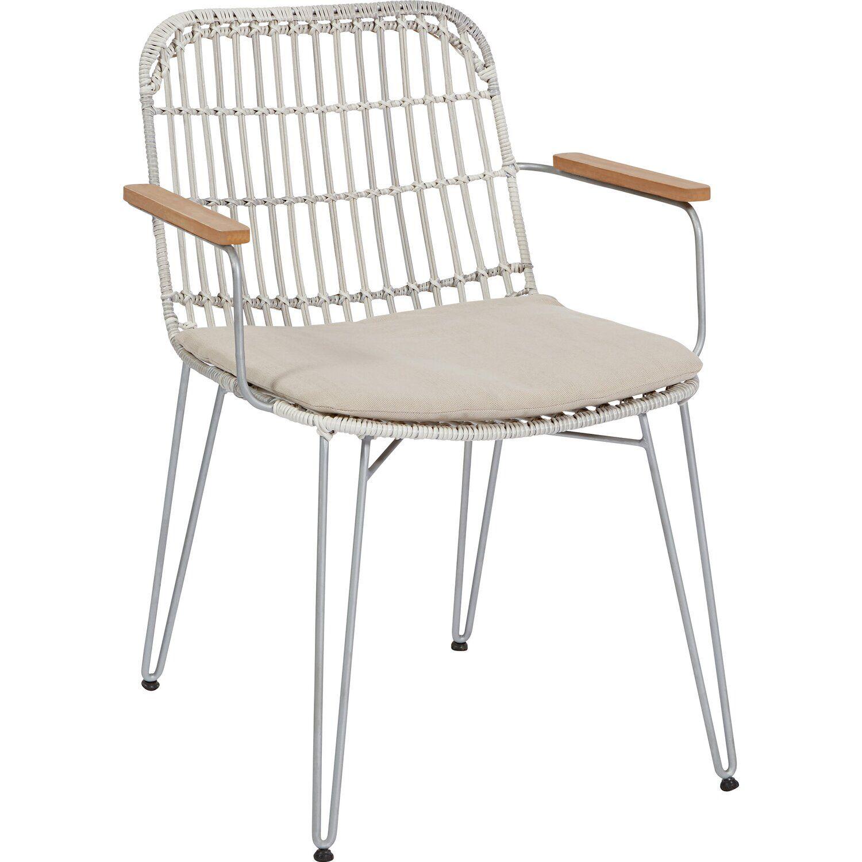 Stapelstuhl Robertville Aus Polyrattan Fsc Weiss Grau Kaufen Bei Obi In 2021 Stapelstuhle Stuhle Gartenstuhle