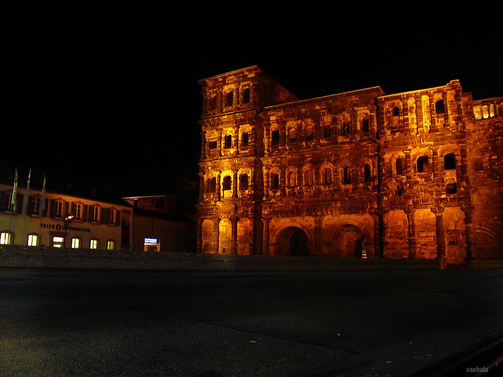Porta Nigra, in Trier, Germany. I've been inside the ruins of this building!