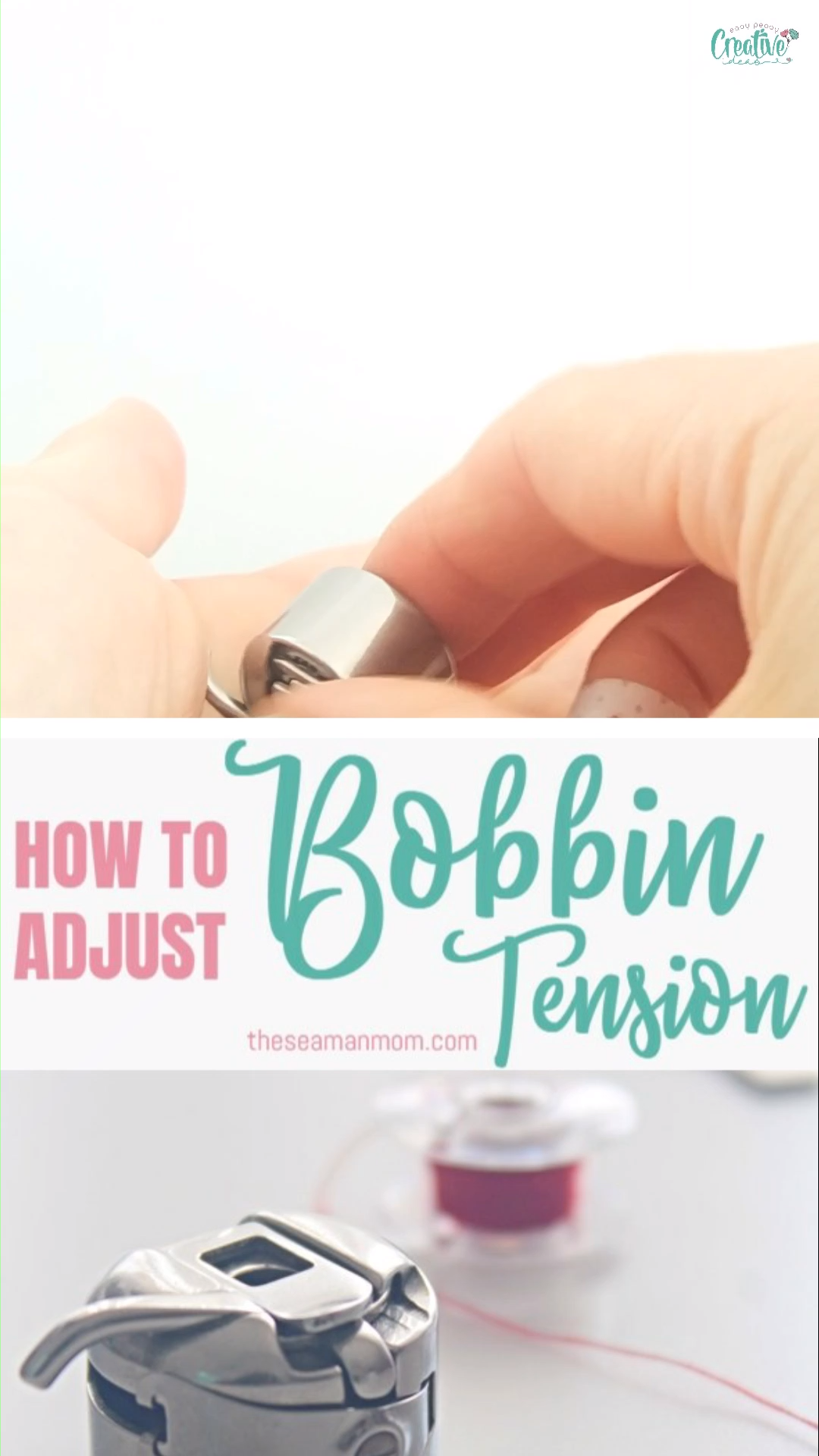 Photo of HOW TO ADJUST BOBBIN TENSION