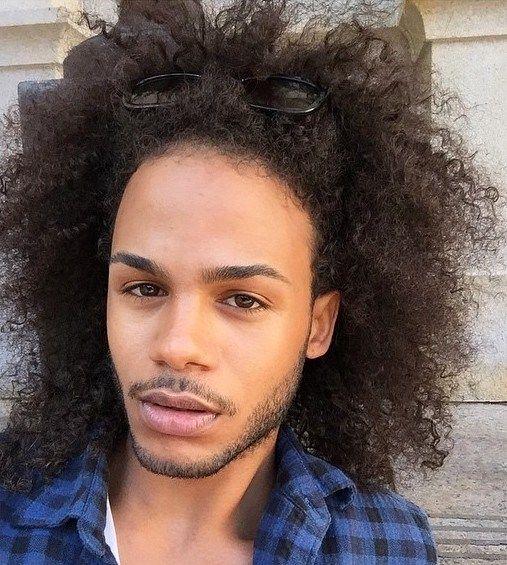 20 Terrific Long Hairstyles for Black Men | Pinterest | Long ...