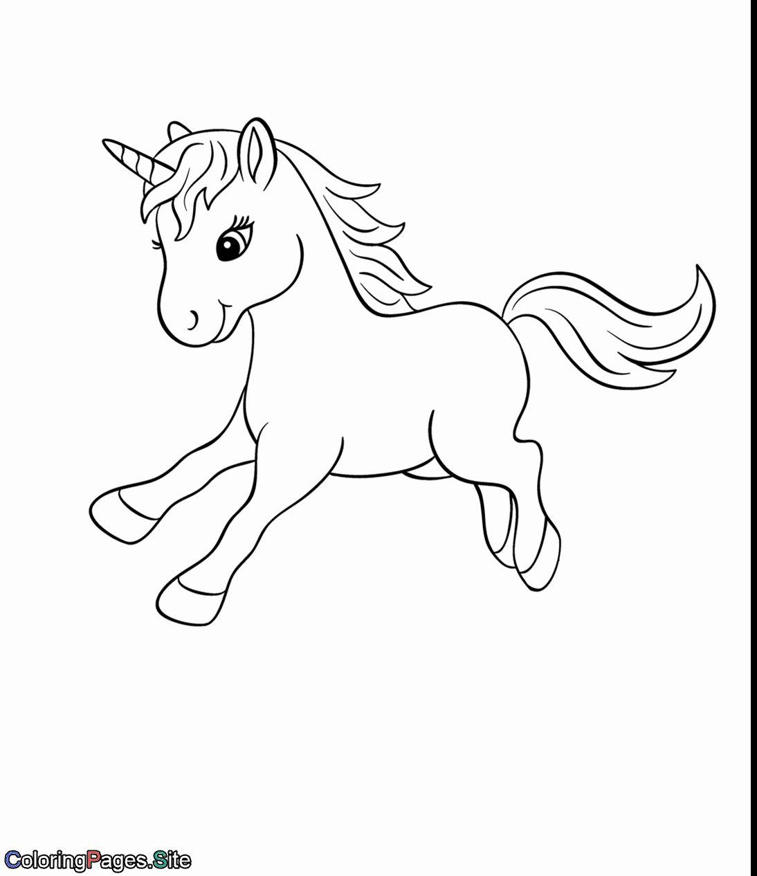 Baby Unicorn Coloring Page Lovely Baby Unicorn Coloring Page Tekenen Eenhoorn