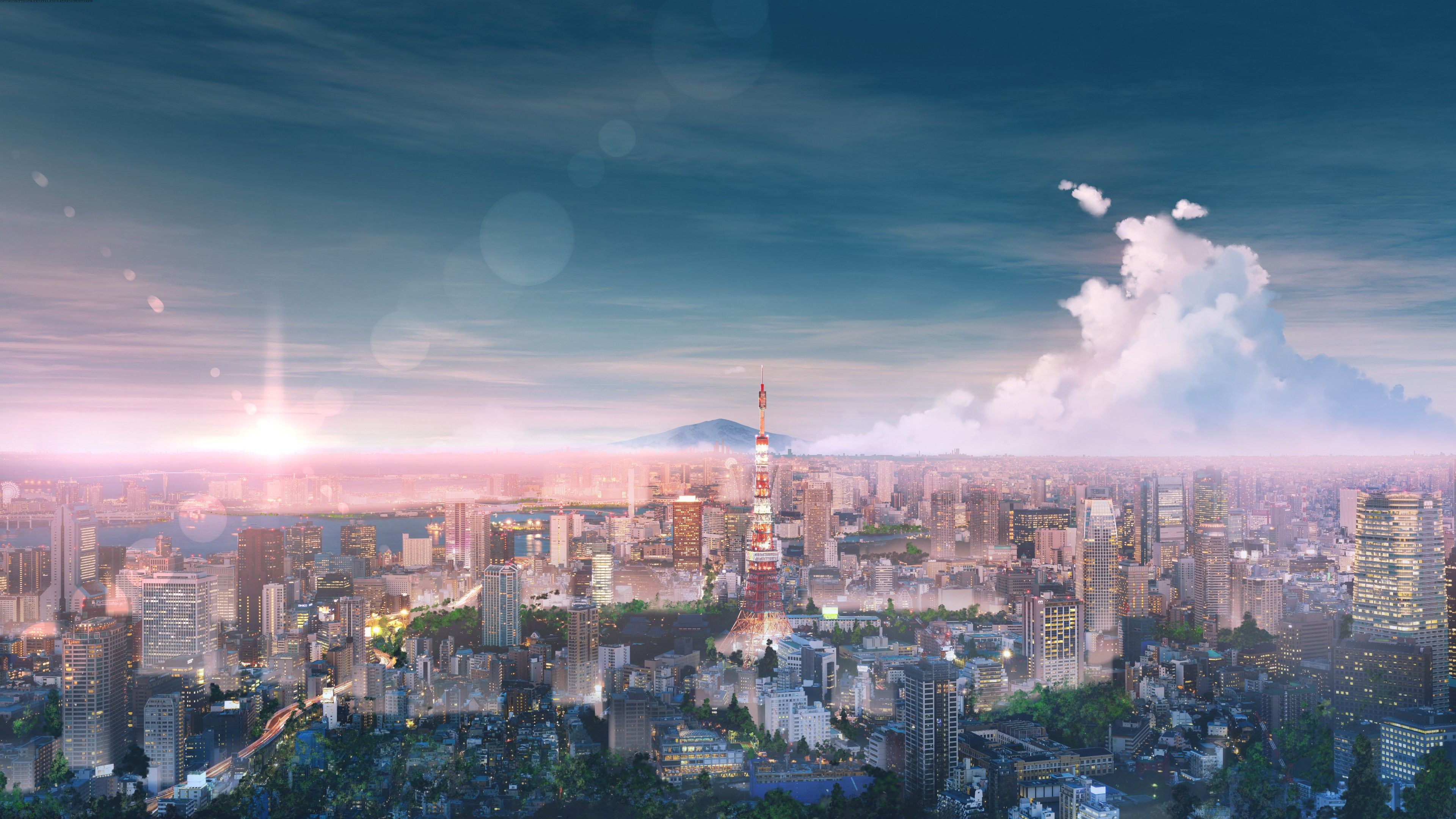 Tokyo Cityscape Anime Tokyo Wallpapers Hd Wallpapers Digital Art Wallpapers Cityscape Wallpapers Artwork Wall In 2020 Cityscape Wallpaper Anime Wallpaper Cityscape