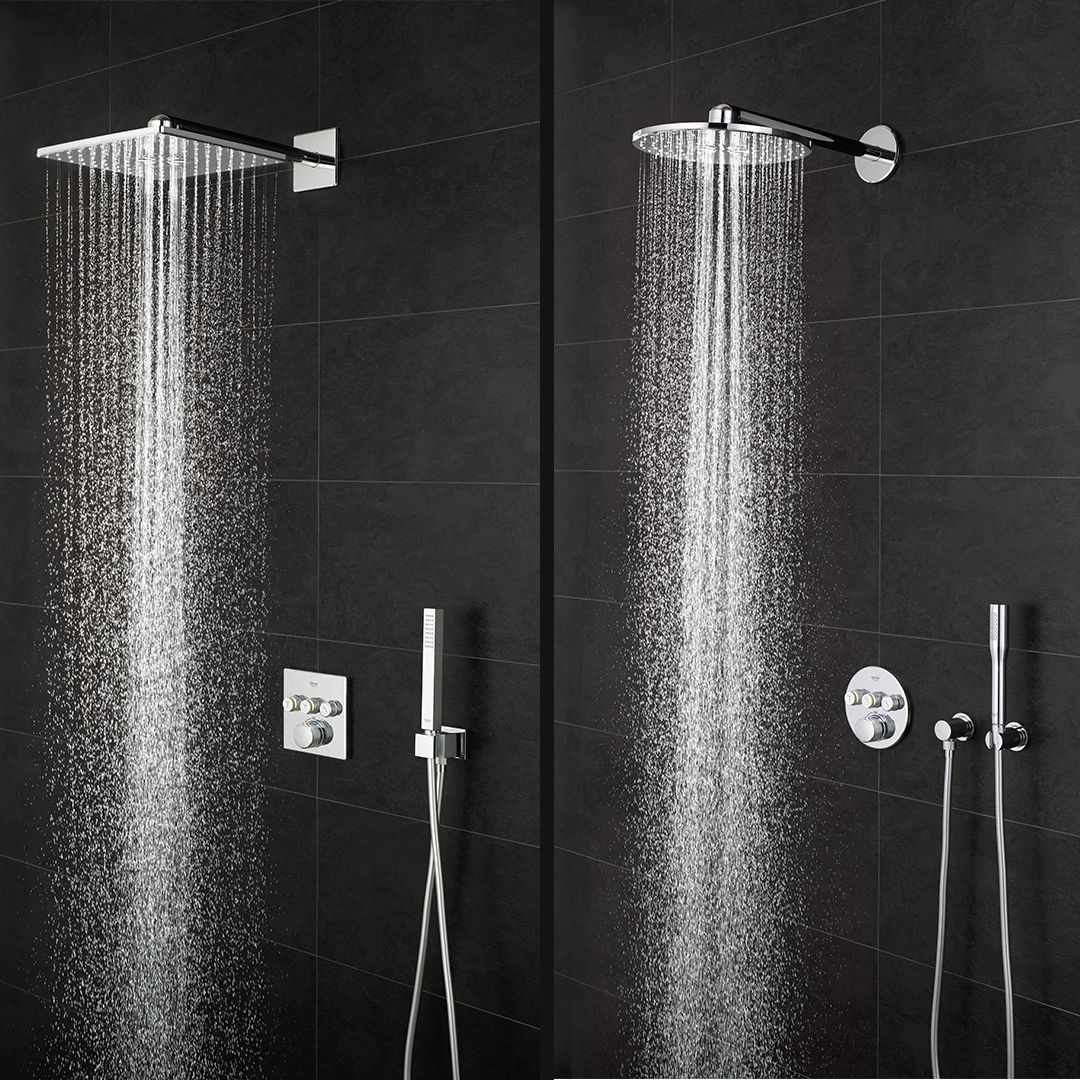 Round Or Square Large Or Small Wall Or Ceiling Mounted Grohe