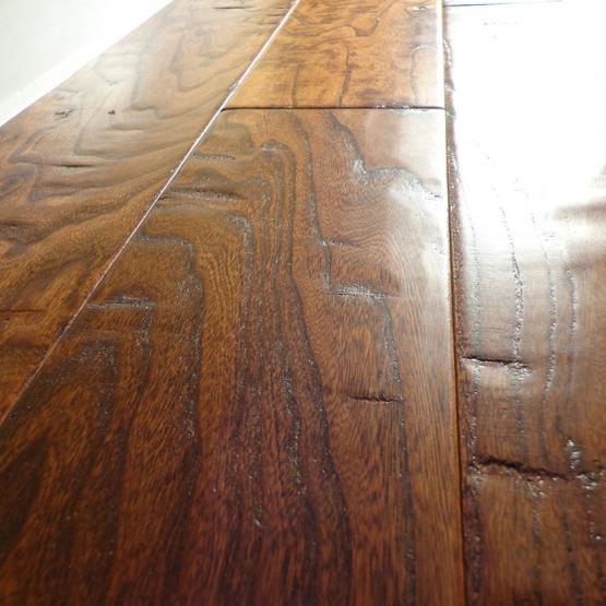 Elm Gunstock 9 16 X 5 Hand Scraped Engineered Hardwood Flooring Engineered Hardwood Flooring Engineered Hardwood Hardwood Floors