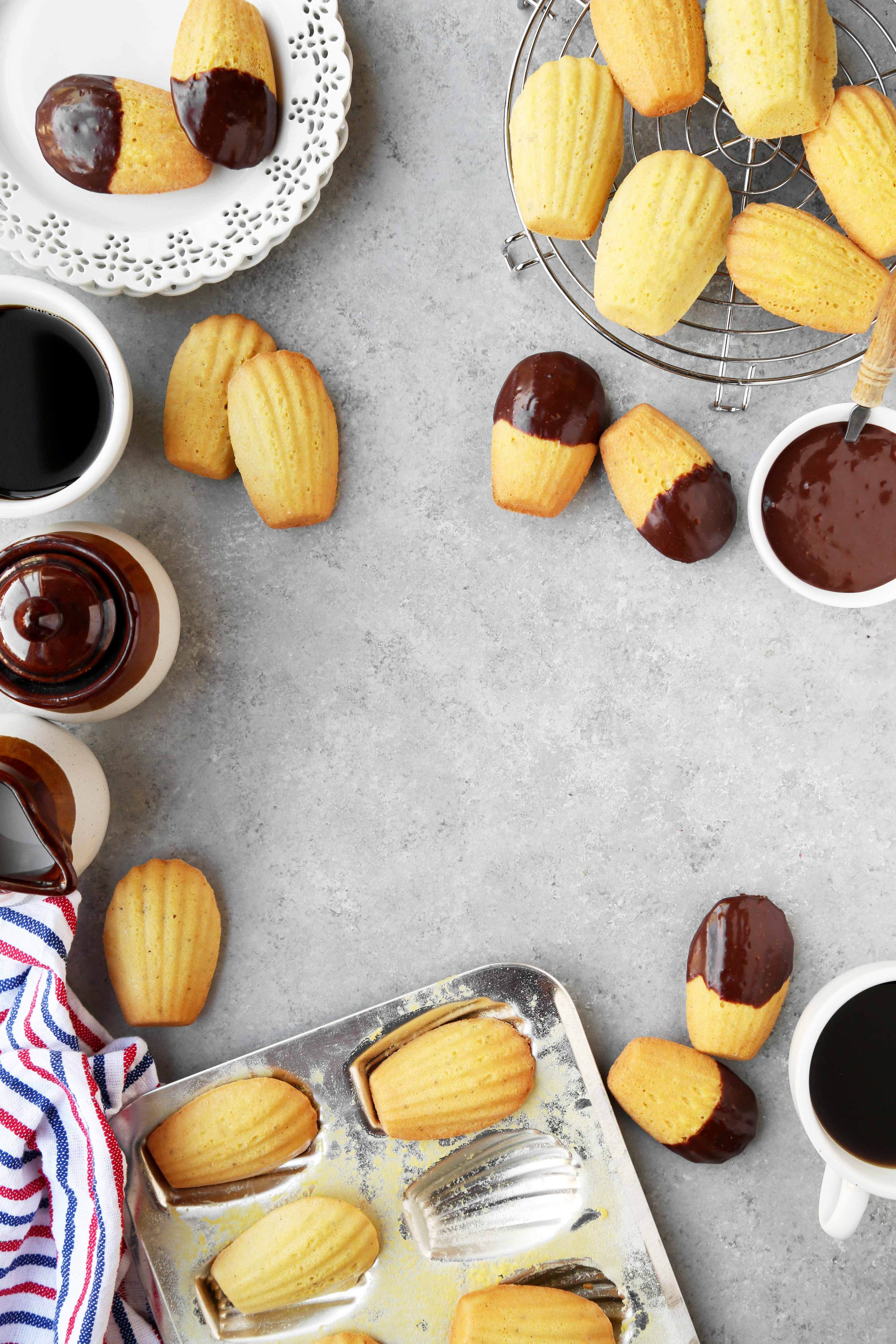 The Classics: Brown Butter Orange Madeleines - The Candid Appetite