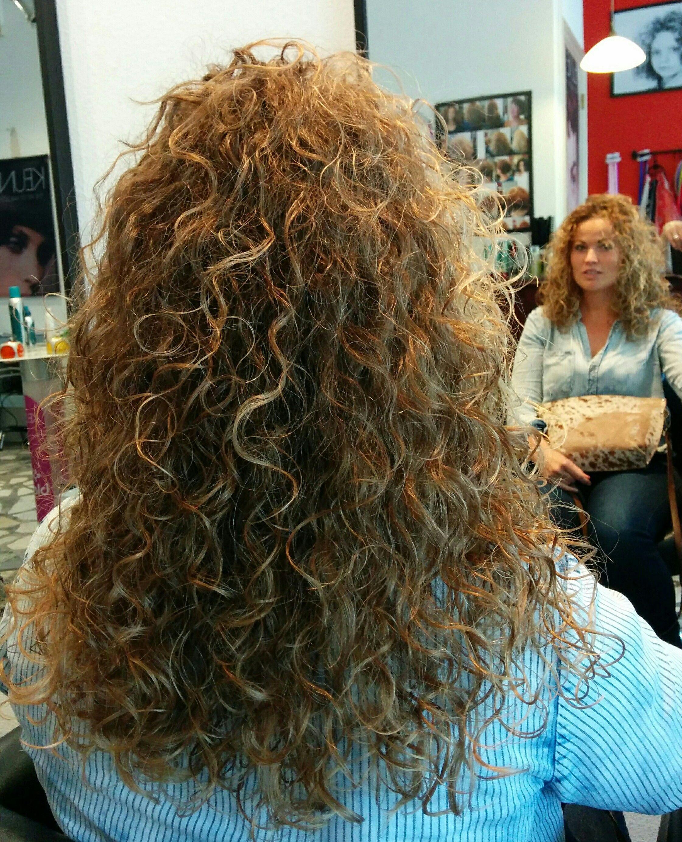 permanent lang haar
