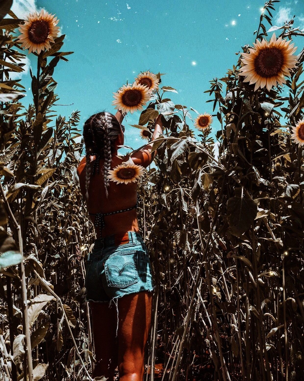 Vibes Summer aesthetic summer inspo swimwear fashion sunflowers sunflower field The Effective Pictures We Offer You About summer outif A quality picture can tell you many...