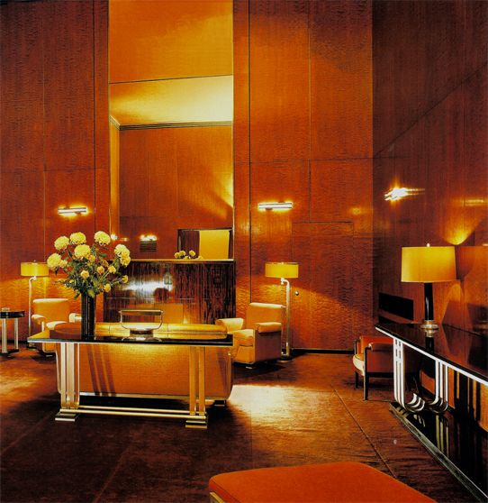 The Roxy Suite Radio City Music Hall's Secret Art Deco