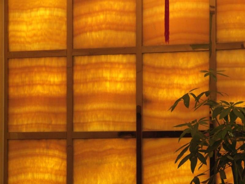 Back Lit Translucent Stone Panels From Stoneply Translucent