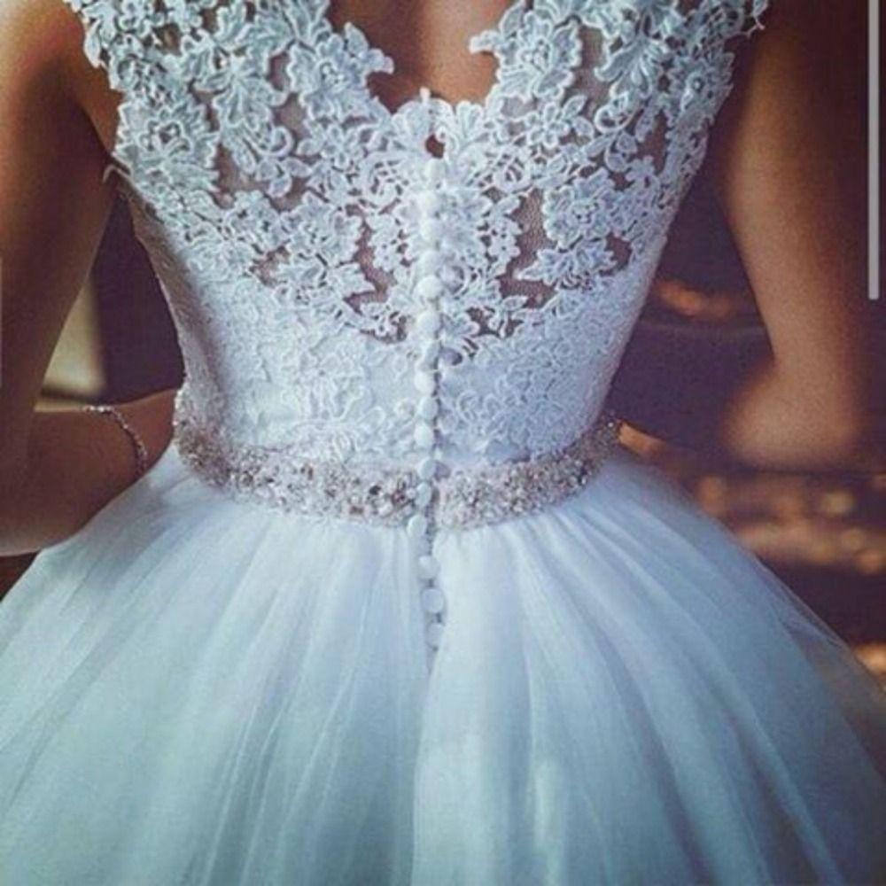 Robe De Mariage 2016 princesa vestidos De casamento romântico ...