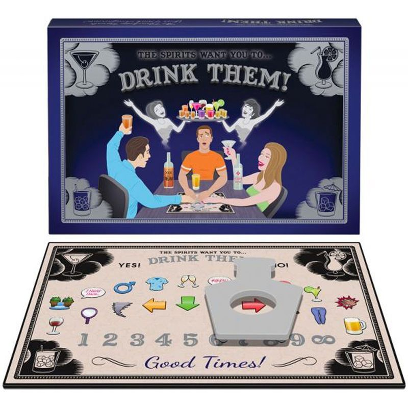 The Spirits Want You To Drink Them Ouija Spirit Board Adult