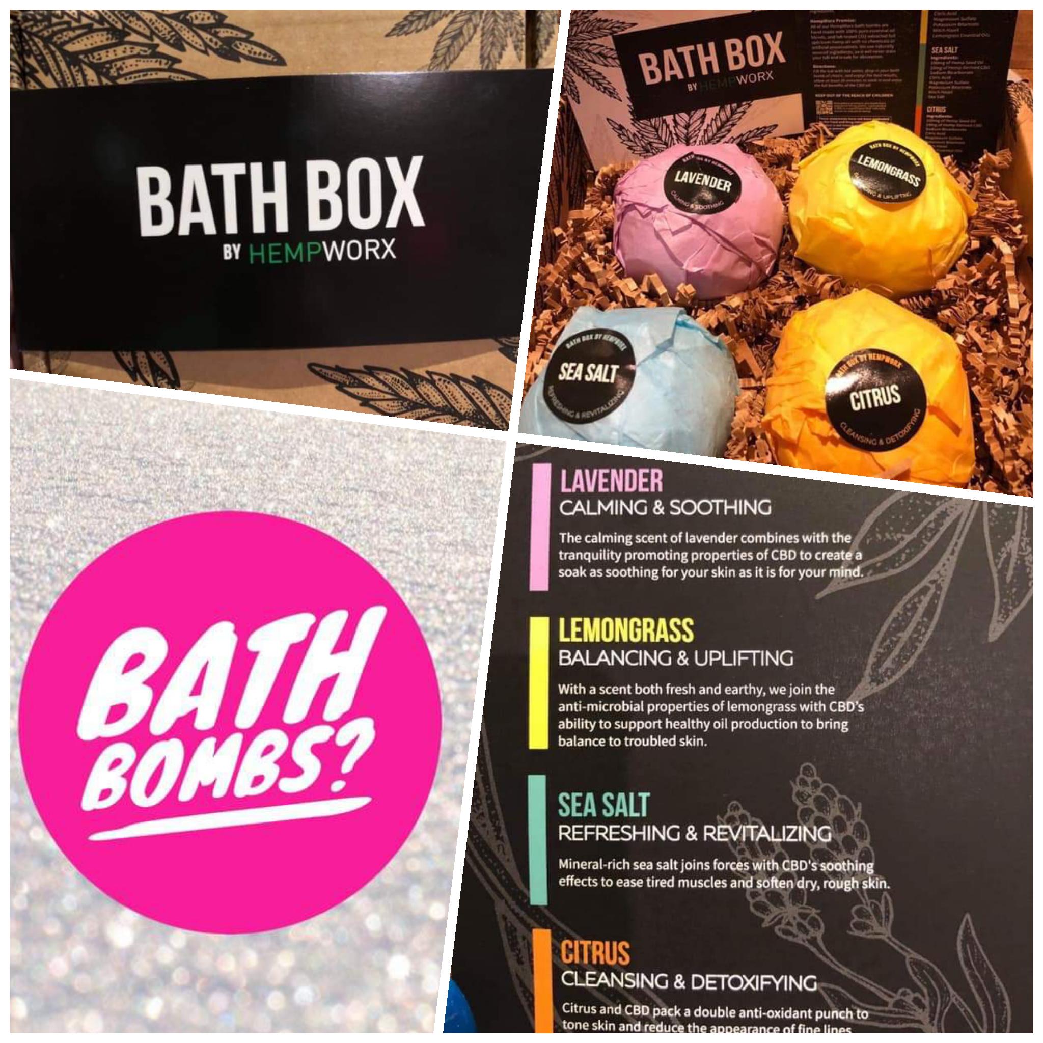 🌱 NEW EXCITING CBD PRODUCT🌱 HEMPWORX CBD BATH BOMBS •100mg