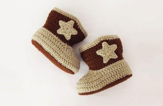 Crochet cowboy boots tutorial ffc366e649f5