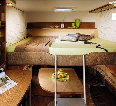 Luxury Compact Caravans Caravan Living Small Spaces Luxury Caravans