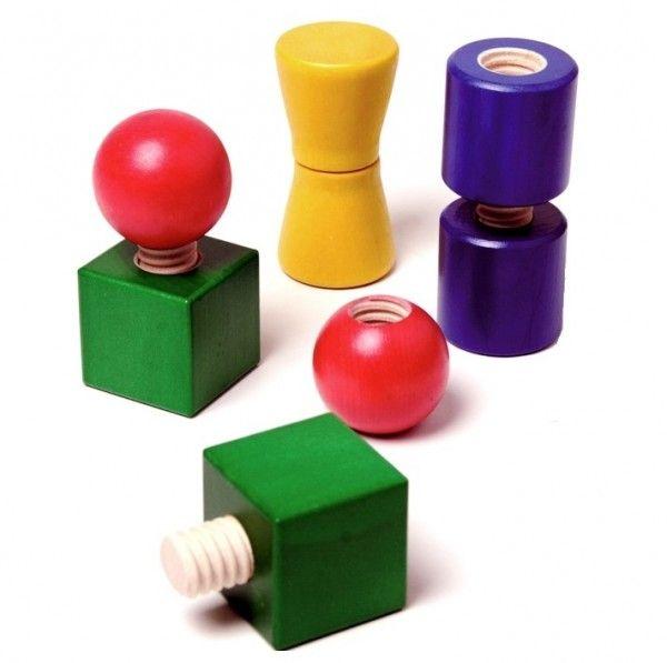 Schrauben und Muttern – frei kombinierbar | Spielzeug ...