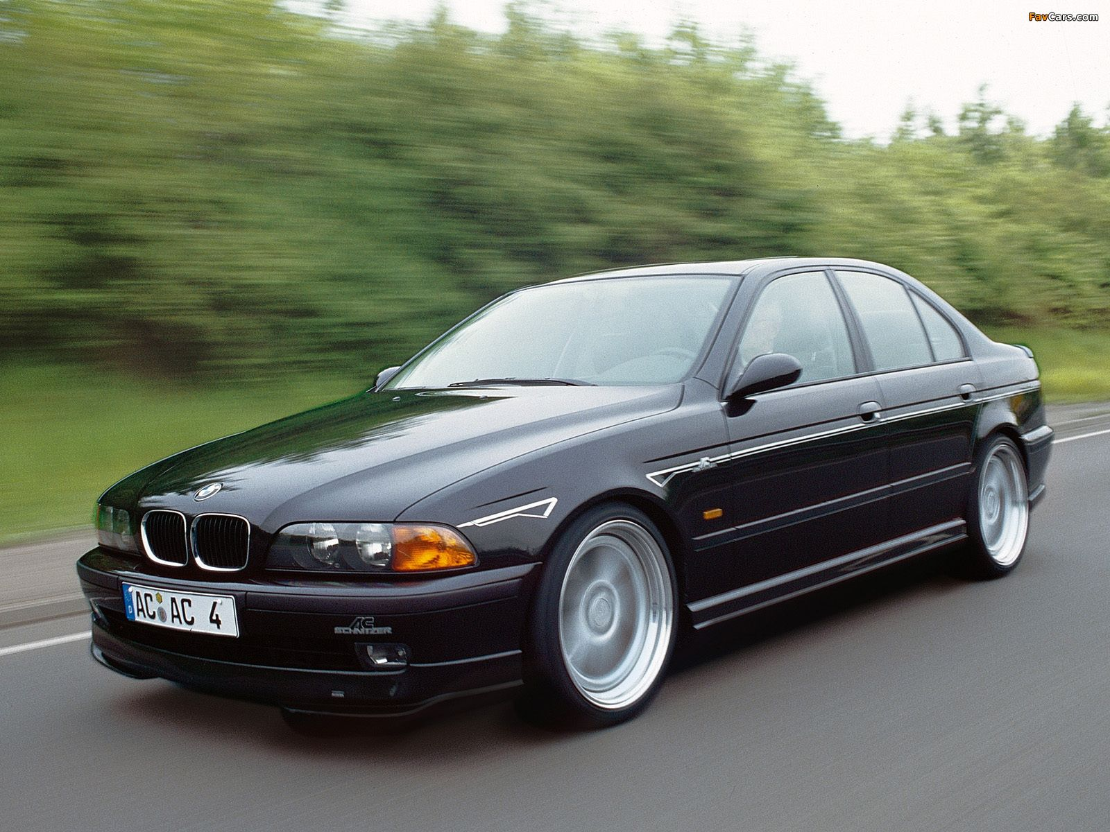 hight resolution of bmw e39 by ac schnitzer