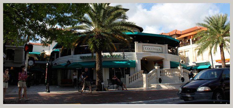 Cocowalk S Restaurantovie Theaters Coconut Grove Miami Florida