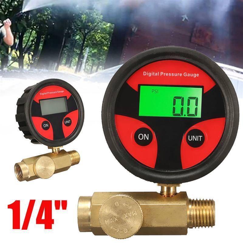 1 4 Air Compressor 180psi Digital Pressure Regulator Gauge Control Vave Zeast Digital Pressure Gauge Digital Pressure Gauge