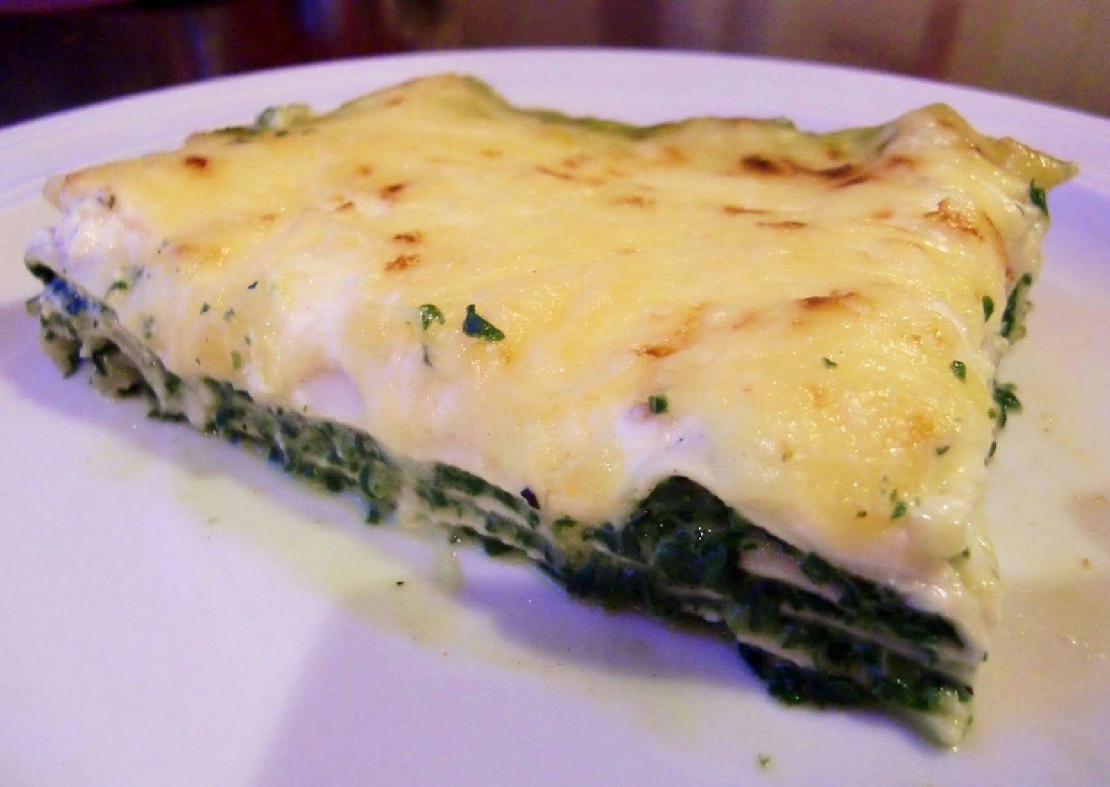 Spinatlasagne #rezept #recipe #veggie #vegetarisch #lasagne