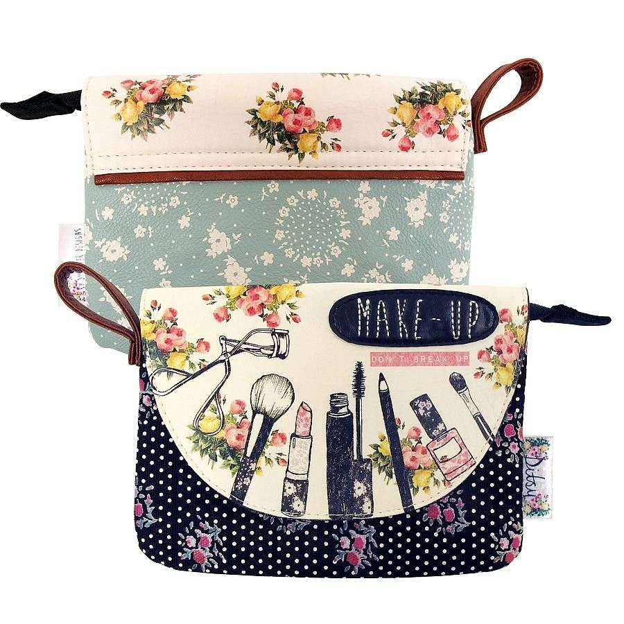 Ditsy Make Up Bag