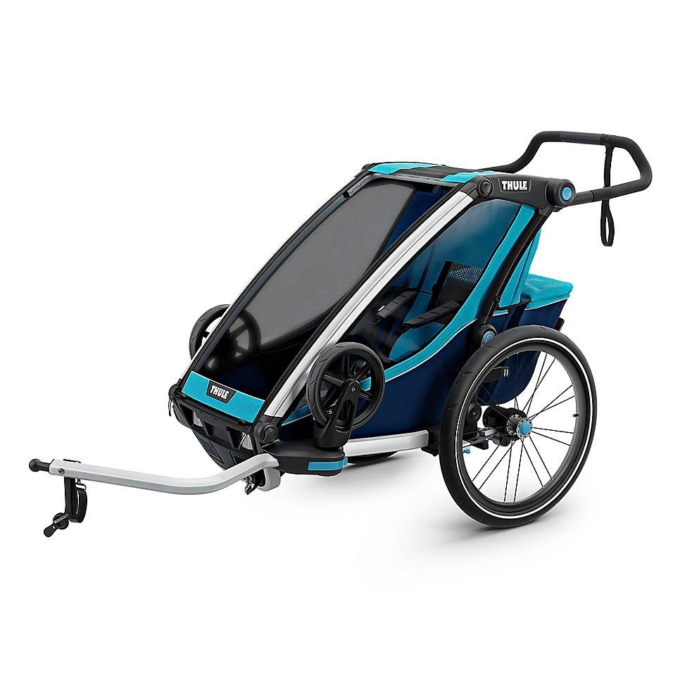 Thule Chariot Cross 1 Multi-Sport Single In Blue | Bike ...