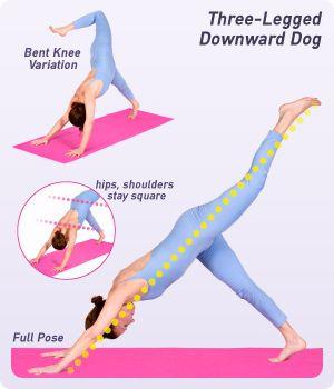 threelegged downward dog w/ variation and alignment tips