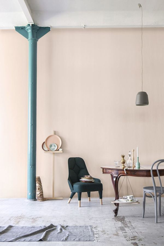 Pale pink color trends apartment therapy