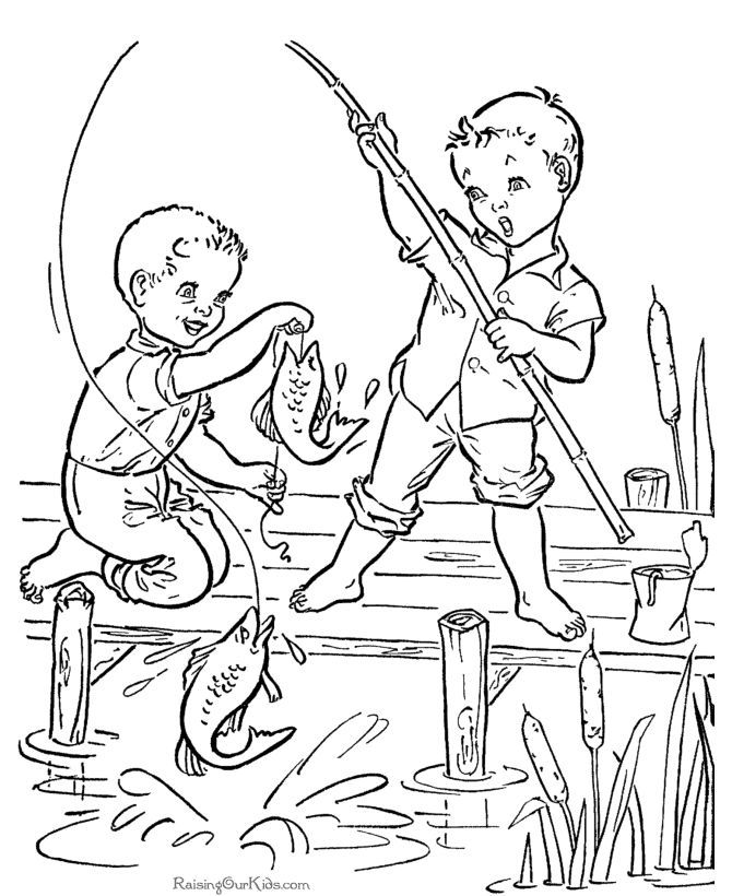Image Result For Vintage Coloring Book Printable Vintage Coloring Books Coloring Books Fish Coloring Page